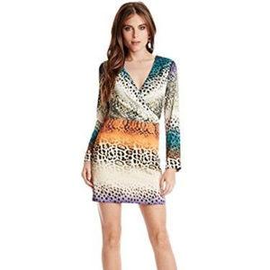 NWT Marciano Wild Streak Mini Dress